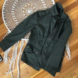 Green Military Style Jacket NWOT